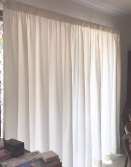 Pale Ivory Curtains