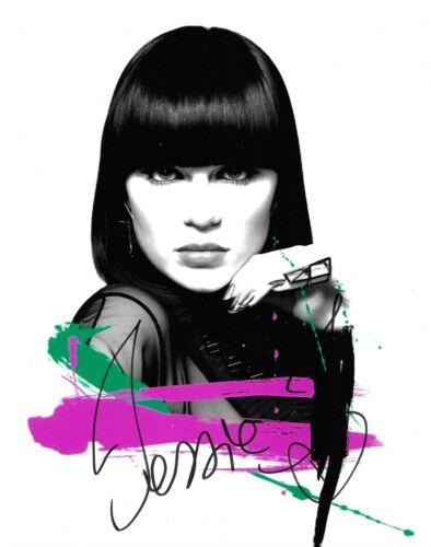 Jessie J Signed 10x8 Photo AFTAL