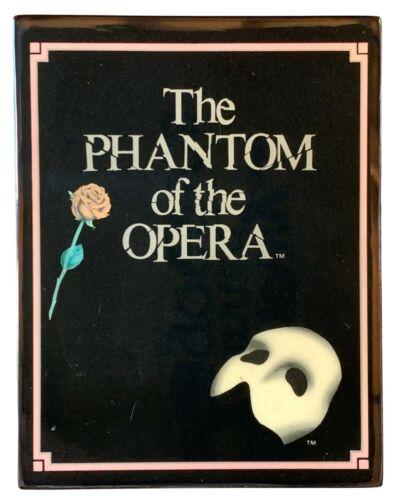 Vintage Frank Lloyd Weber Phantom of the Opera Music and Jewelry Box