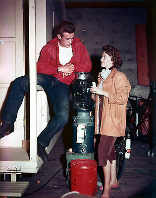 """James Dean / Natalie Wood 8x10 """" Rebel Without a Cause """" FREE US SHIPPING"""
