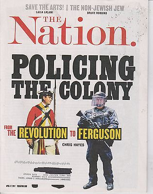 APRIL 17 2017 THIS NATION magazine DONALD TRUMP - POLICING THE COLONY