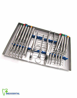 Dentistry Dental Implant Instruments Kit Osteotomes Extraction Forceps Save 55