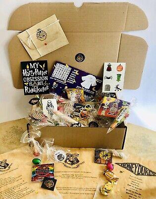 Harry Potter Personalised Sweets Toys Gift Hamper Box Hogwarts Acceptance Letter