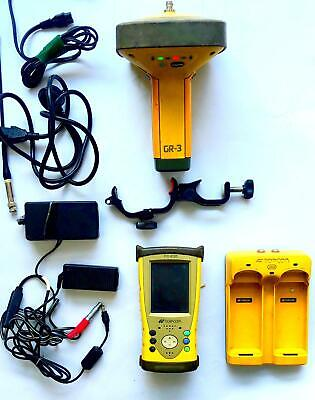 Topcon Gps Gr-3 Gnss Reciever With Fc-200 Field Controller