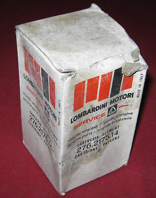 LOMBARDINI FILTER 276 - 2175 - 14 ...... !! PRICED TO CLEAR !!