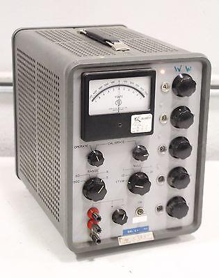 John Fluke 801bg Differential Dc Voltmeter 597