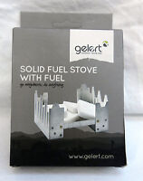 Gelert Solid Fuel Stove With Fuel - Portable Stove - Camping / Festival - Bnib - gelert - ebay.co.uk