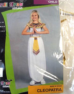 Cleopatra Child Costume Dress Girls 4-6 8-10 NIP - Cleopatra Costume Kid