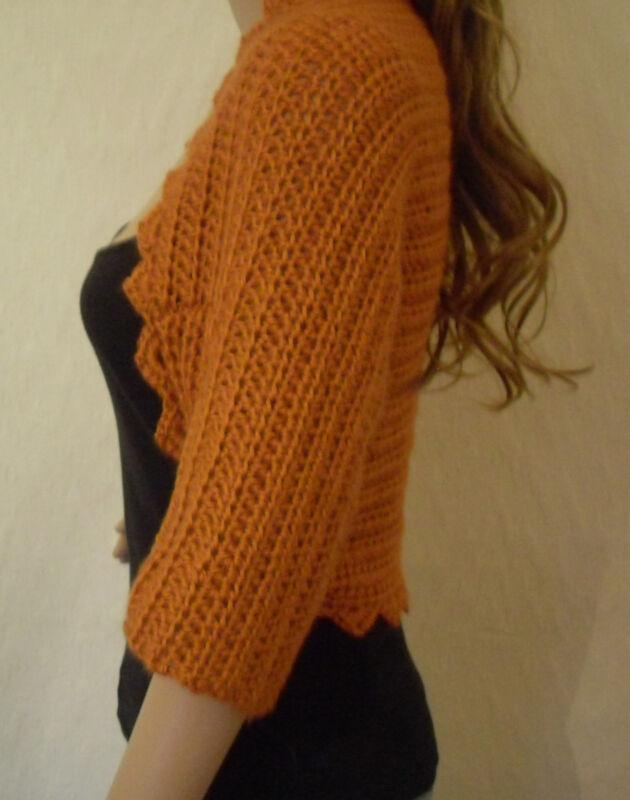 Free Plain and Simple Shrug Crochet Pattern