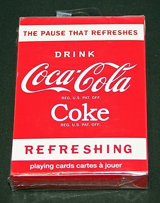 Coca Cola Playing Cards 2010   Coke   Us Playing Card Company   New