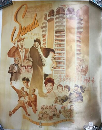 Sands Hotel Poster 28in x 22in