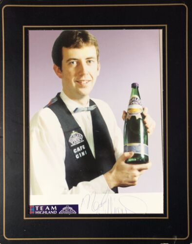 Mark Williams Snooker World Champion Signed Photograph, With Frame