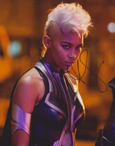 Alexandra Shipp Signed X-Men 10x8 Photo AFTAL