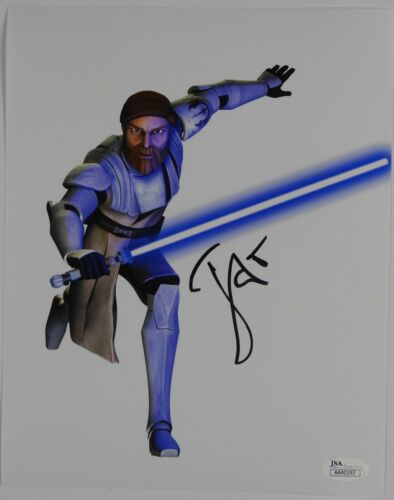 James Arnold Taylor Star Wars The Clone Wars signed autograph 8 x 10 Photo JSA