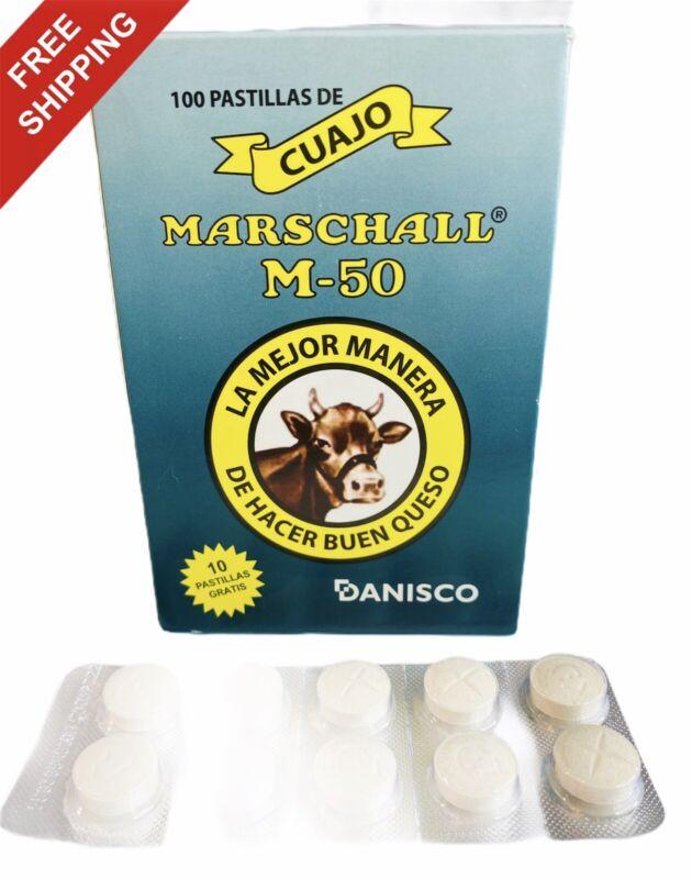 Cuajo Coagulante Marschall 10 pastillas original de calidad para hacer queso