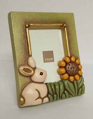 THUN - Cornice Portafoto Grande con Coniglio