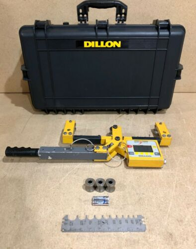 Dillon Quick Check 10,000 lbf. Cable Wire Tension Meter AWT05-50825
