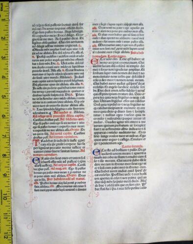 Extremely rare incunabula,Breviary lf.vellum,8 handpt.initials,Jenson,1478
