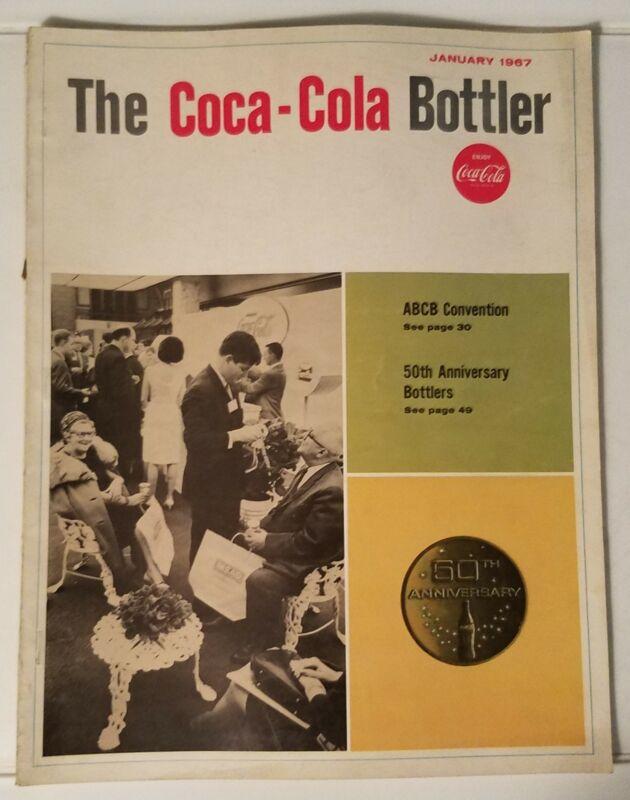 THE COCA-COLA BOTTLER - VINTAGE MAGAZINE - JAN. 1967