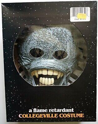 Vintage Alien Aliens 1992 Collegeville Costume Mask USA 100% Vinyl Medium Child