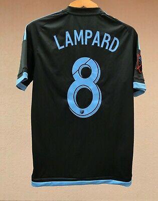 NEW YORK CITY FC 2015 AWAY FOOTBALL SOCCER SHIRT JERSEY CAMISETA ADIDAS LAMPARD image
