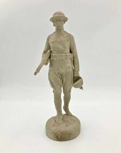 Victorious American Doughboy by French Sculptor Paul Ducuing