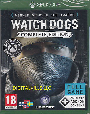 Watch Dogs Complete Edition Xbox One with add ons Brand New Sealed for sale  Shipping to Nigeria