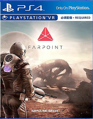 Farpoint  English Chi Ver    Vr Required For Ps4 Sony Playstation 4