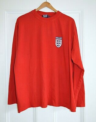 Admiral England Football Red Long Sleeved, Size; XXL, 2XL, VGC, Top