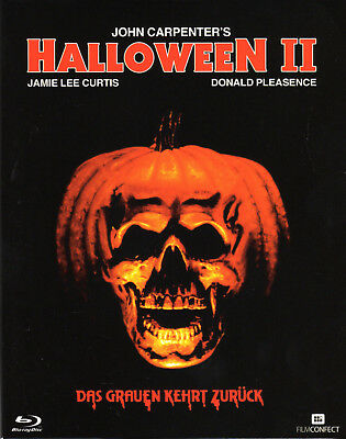 Halloween 2 , Blu-Ray , 100% uncut , NEW , english and german audio , Carpenter (Halloween 2 1981 Uncut Dvd)