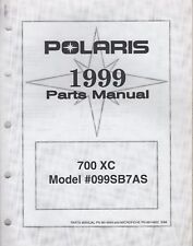 1999 POLARIS SNOWMOBILE 700 XC PARTS MANUAL 9914849 (169
