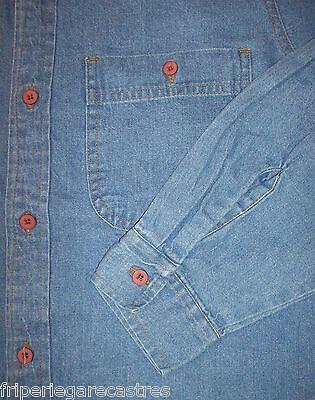 Chemise en jean fineline (usa), qualité b, taille s --- (cj_098)