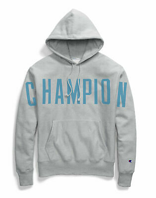 Champion Life Reverse Weave Pullover Hoodie Men Oversized Arch Logo Athletic (Champion Life Mens Reverse Weave Pullover Hoodie)