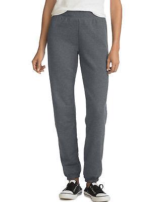 Hanes Women's Mid Rise Cinch Leg Sweatpants Bottom ComfortSo