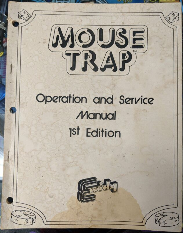 Mouse Trap - Manual - Schematics - Instructions