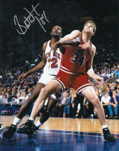 BILL WENNINGTON signed (CHICAGO BULLS) BASKETBALL *LAST DANCE* 8X10 W/COA #2
