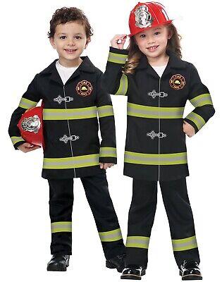 Toddler Jr Fire Chief Fireman Firefighter Costume