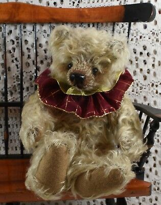Cute LE 6/12 Fred - I - Bear Peek A Boo Mohair by Lynette Kennedy South Africa
