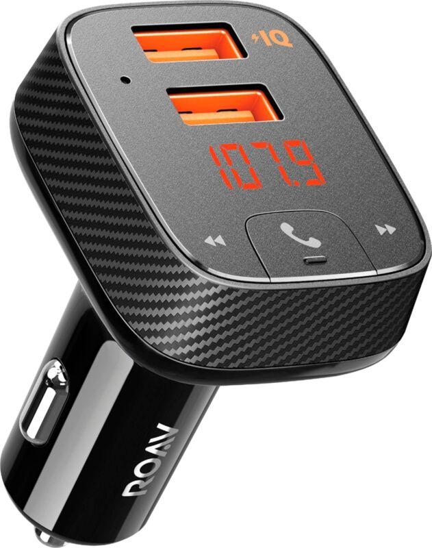 Anker ROAV - SmartCharge F2 FM Transmitter - Black