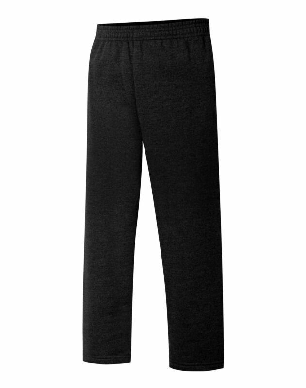 Hanes Boys EcoSmart Open Leg Sweatpants