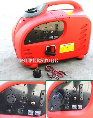 3000w Digital Inverter Gas Generator Tailgating Emergency Rv 30amp Ac Plug
