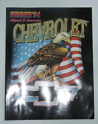 Chevrolet Apparel Catalog Summer 1994