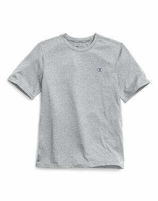Champion T Shirt Crewneck Men's Double Dry Heather Tee Short