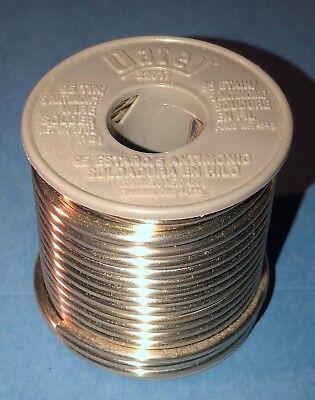 New- Oatey Lead Free 955 Wire Solder. 22017. 1 Pound Roll.