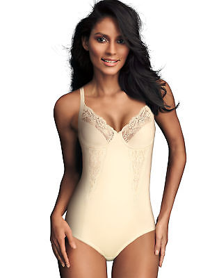 Control Body Briefer (Maidenform Body Briefer All Around Lace Shape wear Firm Control Unlined)