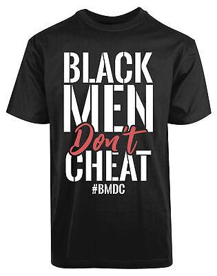 Black Man Don't Cheat New Men's Shirt BMDC Super Classic Summer Casual Gift Tees