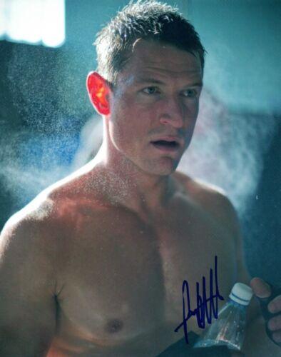 Philip Winchester Signed Autograph 8x10 Photo Strike Back Shirtless Pose COA