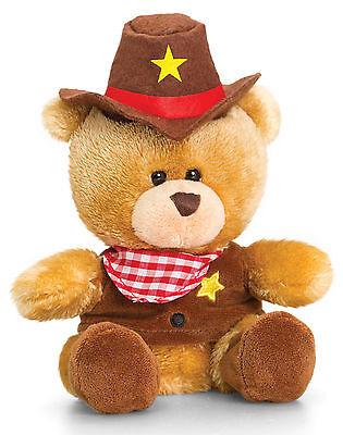 Plüschtier Bär Cowboy Kostüm Kuscheltier, Stofftier Teddy Pipp the Bear - Kuschel Bär Kostüm