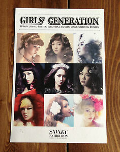 SNSD SM ART Exhibition 2012 Limitied Postcard Girls' Gereration