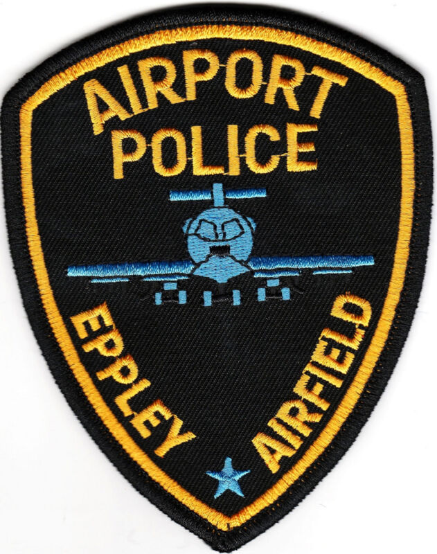 Eppley Airfield Airport Police Patch Nebraska NE